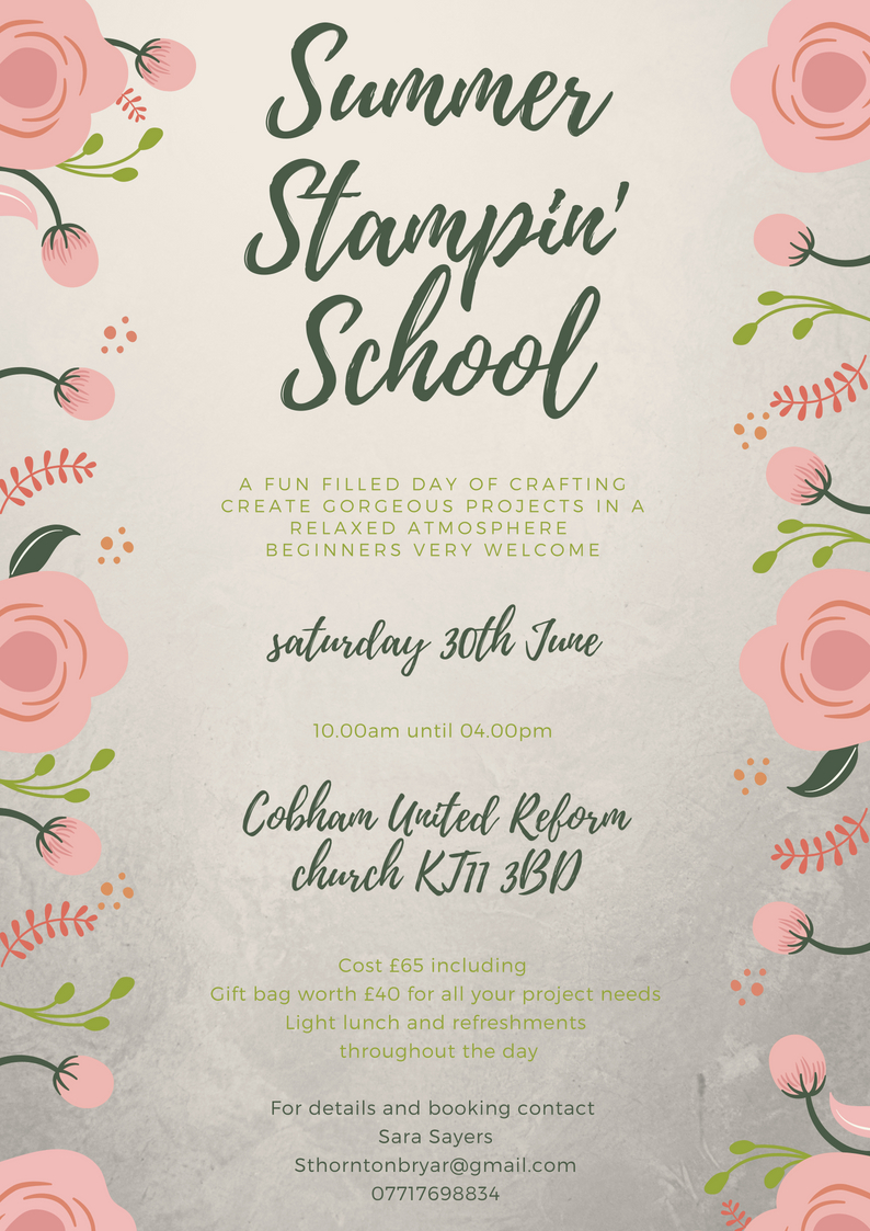 SummerStampin School 18