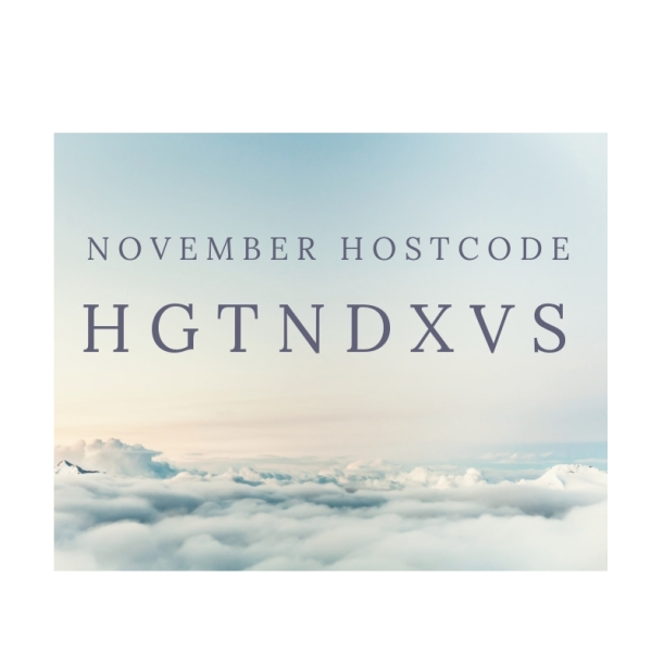 Hostcode November